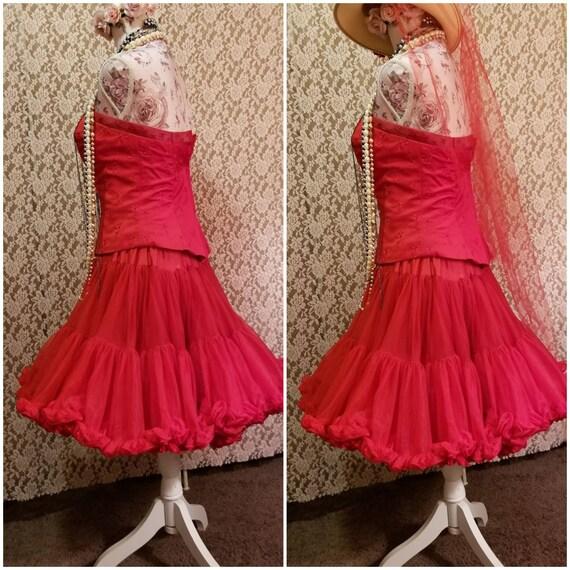 Bustier, Petticoat, Madonna Costume, Burlesque, 8… - image 4
