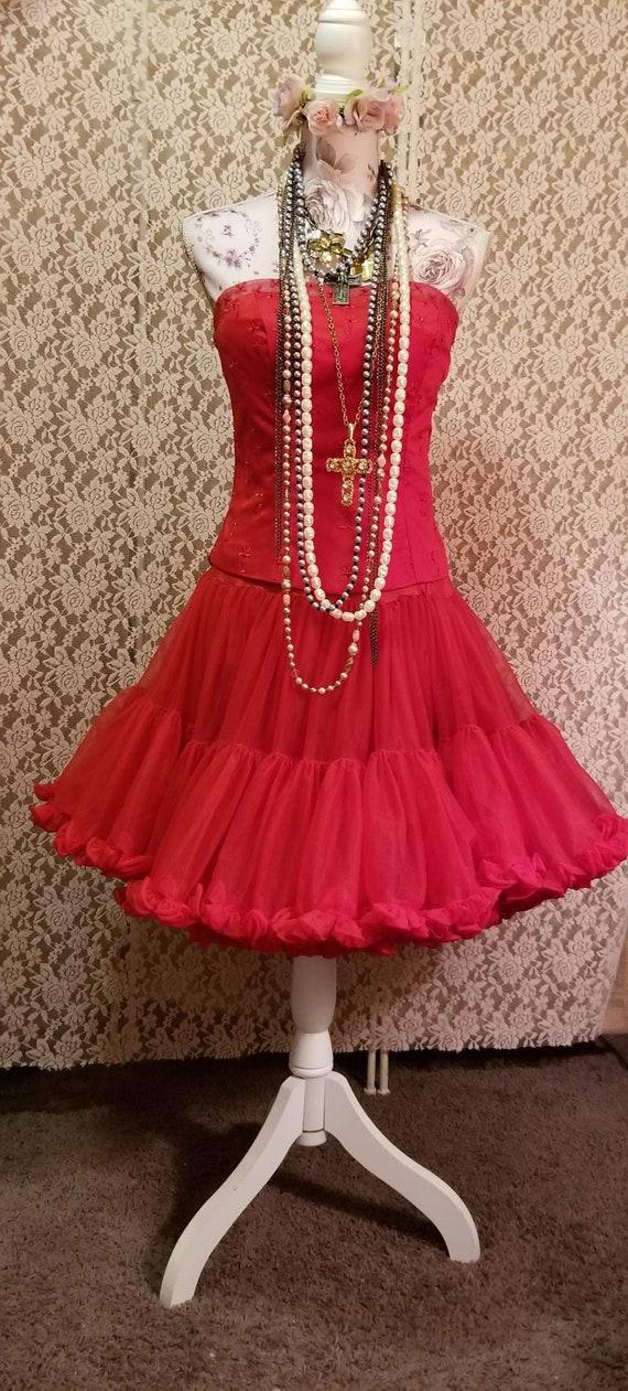 Bustier, Petticoat, Madonna Costume, Burlesque, 8… - image 8