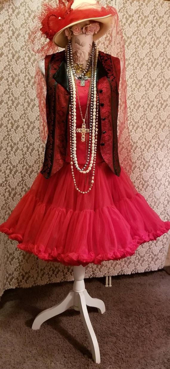 Bustier, Petticoat, Madonna Costume, Burlesque, 8… - image 7