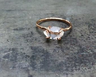 Non Enement Diamond Rings | Non Diamond Engagement Ring Etsy