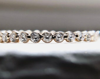 Anniversary Diamond Band, Eternity Band, Solid Gold