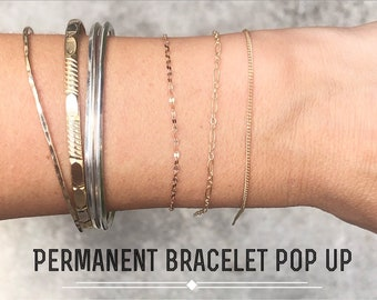 Permanent Bracelet Booking for RAM, Saturday September 18th, 10-3pm