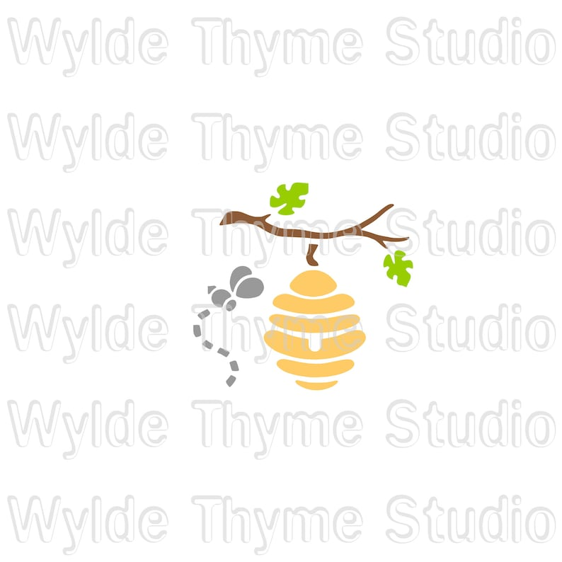 Craft Stencil Wall Stencil Honey Bee /& Hive Stencil Bath Bomb Stencil Cookie Stencil Plastic Reuseable Stencil Airbrush