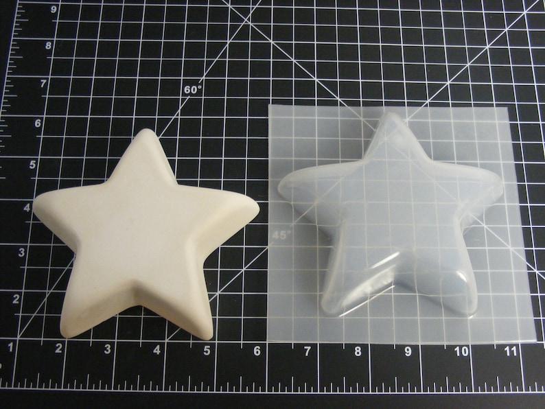 Plastic Mold for Bath Bombs Craft Mold Star Shaped Mold Bath Bomb Mold Resin Mold Plaster Mold Soap Mold Star Bath Bomb Mold