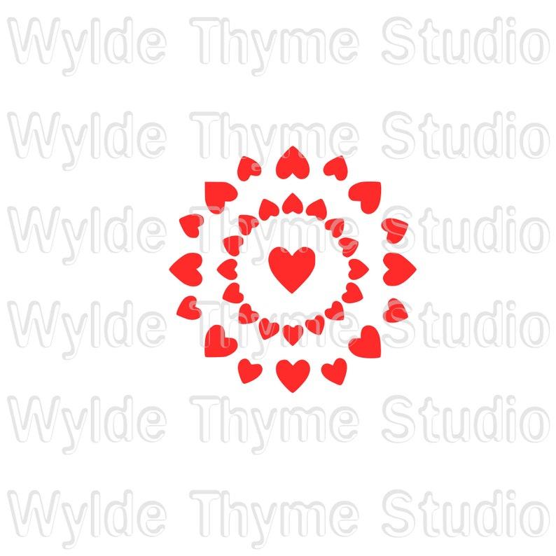 Plastic Reuseable Stencil Wall Stencil Valentine Stencil Cookie Stencil Bath Bomb Stencil Craft Stencil Hearts Bullseye Stencil