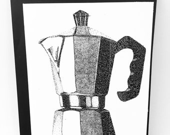 Espresso Coffee Maker Notecard