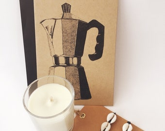 Gift Box with Espresso Coffee Note Cards