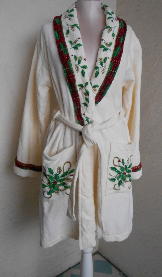 Lenox Robe | Terry Dressing Gown House Coat Christ