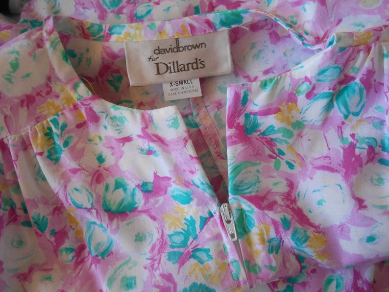 e4318179dc6 Vintage Robe David Brown for Dillard s Full Length