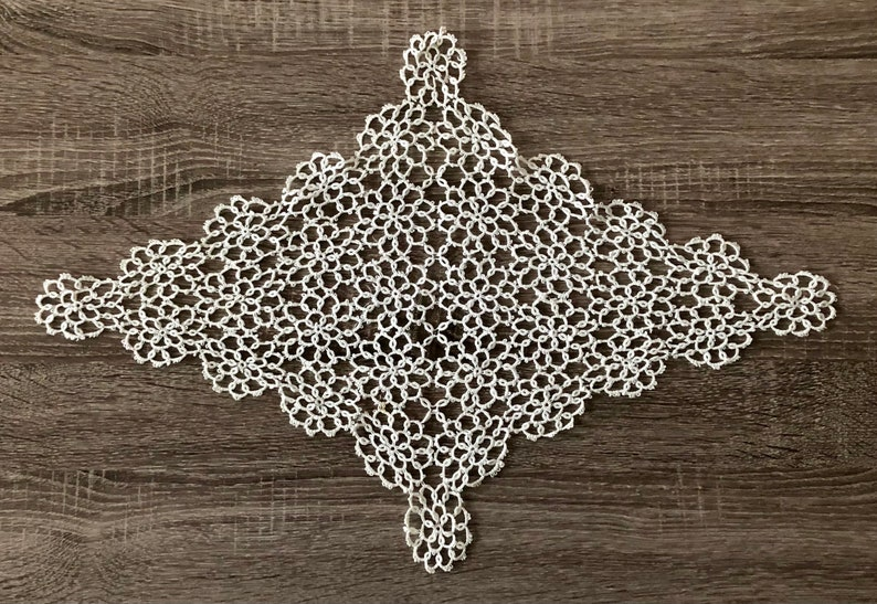 Vintage Tatted Doily