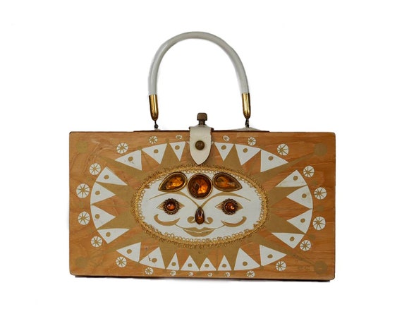 "Enid Collins of Texas 1966 ""Sol"" box bag"