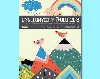 Sel! Sale! Welsh Calendar,  Family Planner (Calendr Cymraeg) A3 A4 Wall Mounted, Spiral Bound
