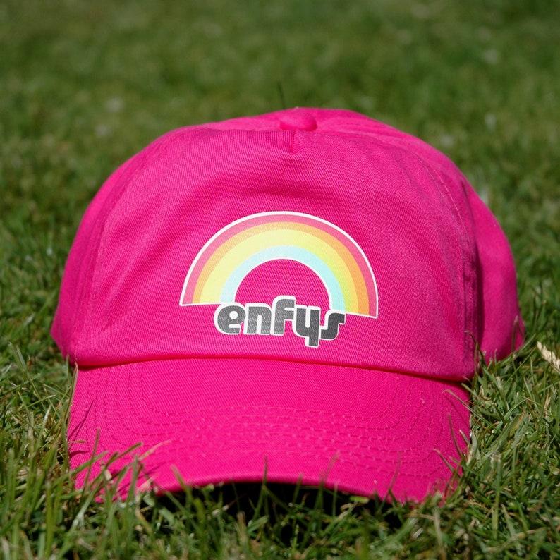 25f9eee8a8548 Enfys Welsh  Rainbow  Children s Baseball Cap in