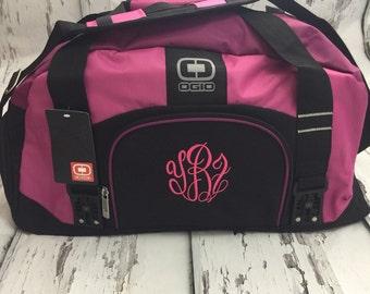 bab64541cfb7 Personalised gym bag