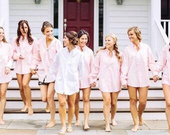 Bridesmaids Gifts Oversized Mens Shirts, Monogrammed Oversized Shirts, Monogrammed Bridal Party Shirts, Button down mens shirts