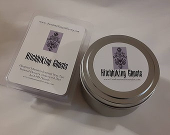 Haunted Mansion Wax tarts and candles- Hitchhiking Ghosts Wax Melts- An Unsettling floral blend- Disney Inspired Scented Wax Tart- Wax melts