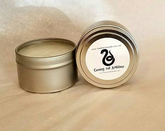 Slytherin Inspired Candle- Cunning and Ambitious - Harry Potter Candle- Dragon's Blood Scented