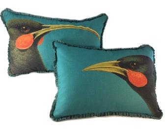Pair of Extinct Birds Pillows