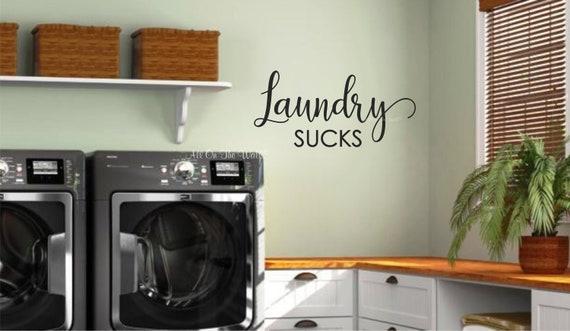 Laundry Vinyl Decal