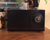 Vintage RCA Victor Radio Bakelite, Working Tube Radio 1950s AM Radio, RCA Model 3-X-521 Mid Century, Antique Tube Radio, Brown