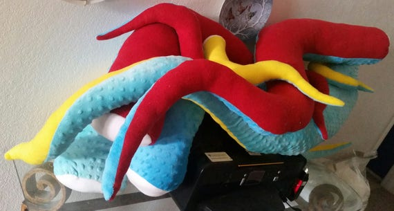 Custom Tentacle Body Pillow Plushies