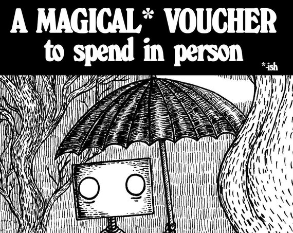 Jon Turner's Magical Voucher of Wonder- Guaranteed to Amaze And Enthral. Probably.