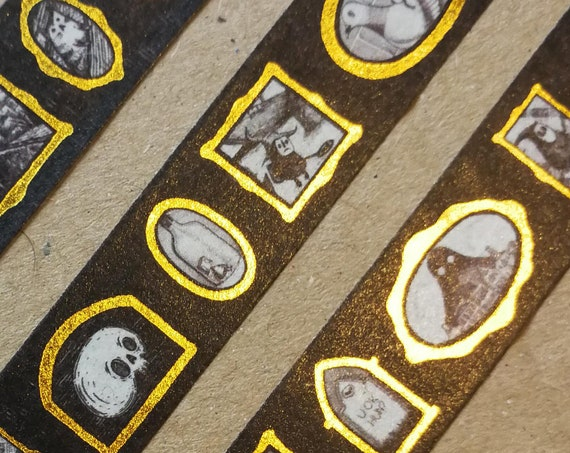 Gallery of Curiosities Gold Foiled Washi Tape