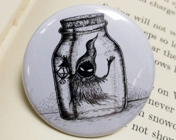 Poe in a Bottle- Zelda inspired Pin