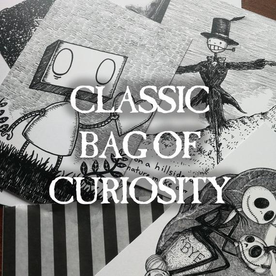 Classic Bag of Curiosity- 10 mystery postcard prints