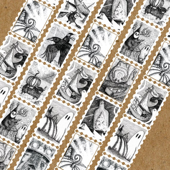 PREORDER Fragments Stamps Art Washi Tape