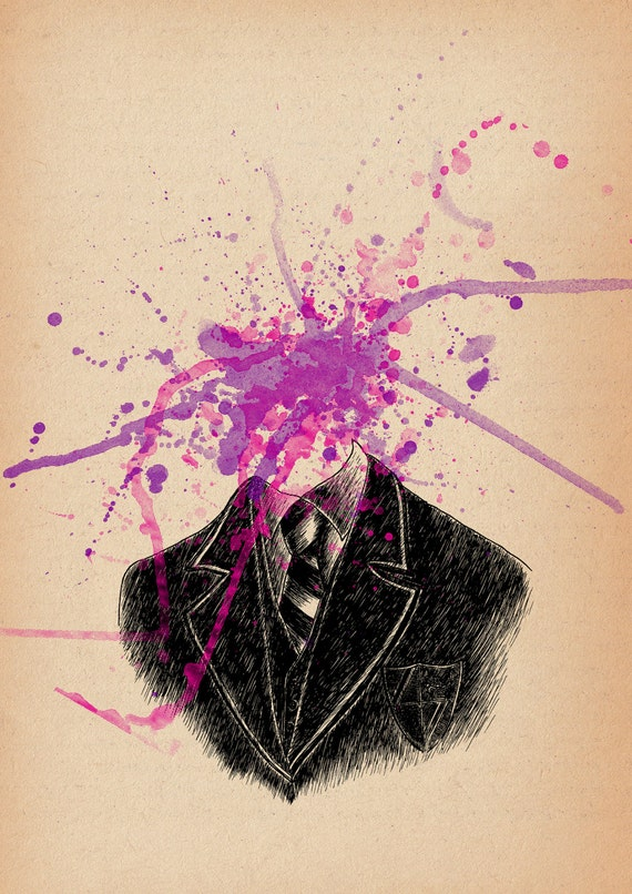 Skool Daze- surreal art print by Jon Turner- A3 A4 8x10