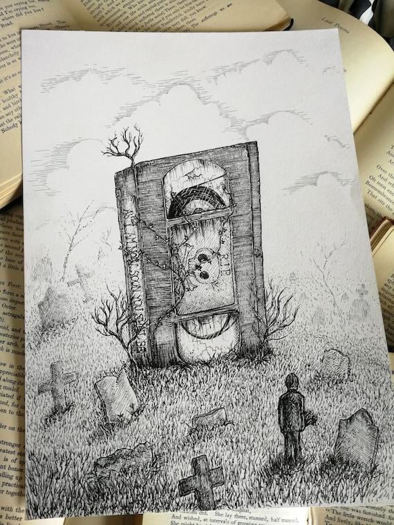 Obsolete Format- Original ink drawing