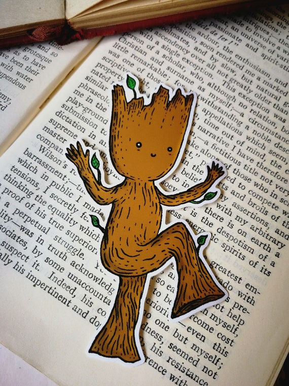 Baby Groot vinyl sticker- laptop sticker