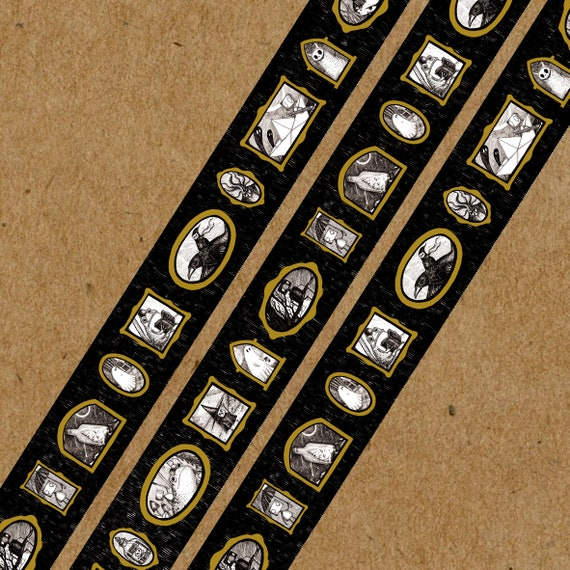 PREORDER Miniature Gallery Gold Foiled Washi Tape