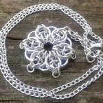 Celtic Star Pendant - Silver