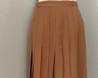 Vintage 1970s Fuzzy Red Cashmere Skirt M Elizabeth Arden Stretchy Knit Skirt w Original Tags