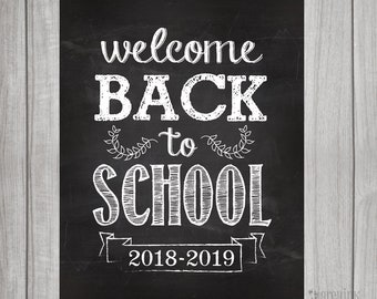 welcome back sign etsy