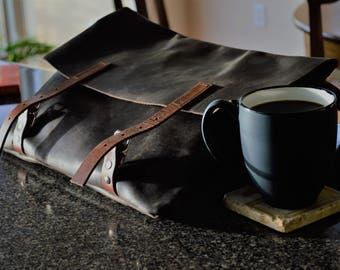 Leather iPad Messenger