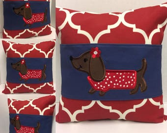 Dachshund Pillow and Wrap