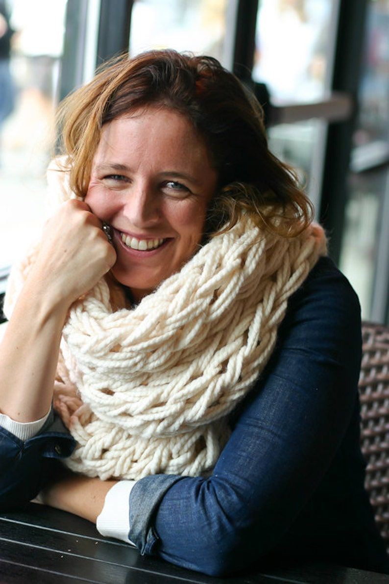A Step-By-Step Photo Tutorial Arm Knitting How-To PDF