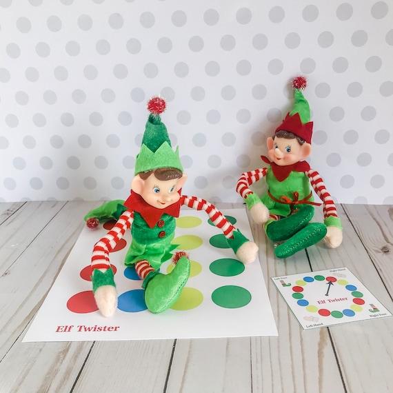 Christmas Elf Twister Kit Elf Prop Instant Download