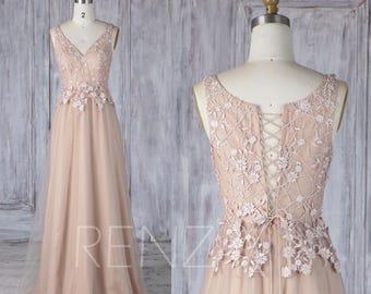V back wedding dress | Etsy