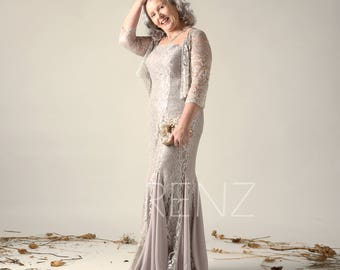 265e281bcfe Taupe Mother of the Bride Two Piece Dress