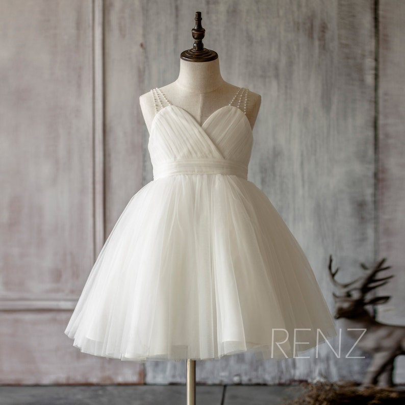 b4d14d40f99 Flower Girl Dress Communion Dress Rustic Flower Girl Dresses