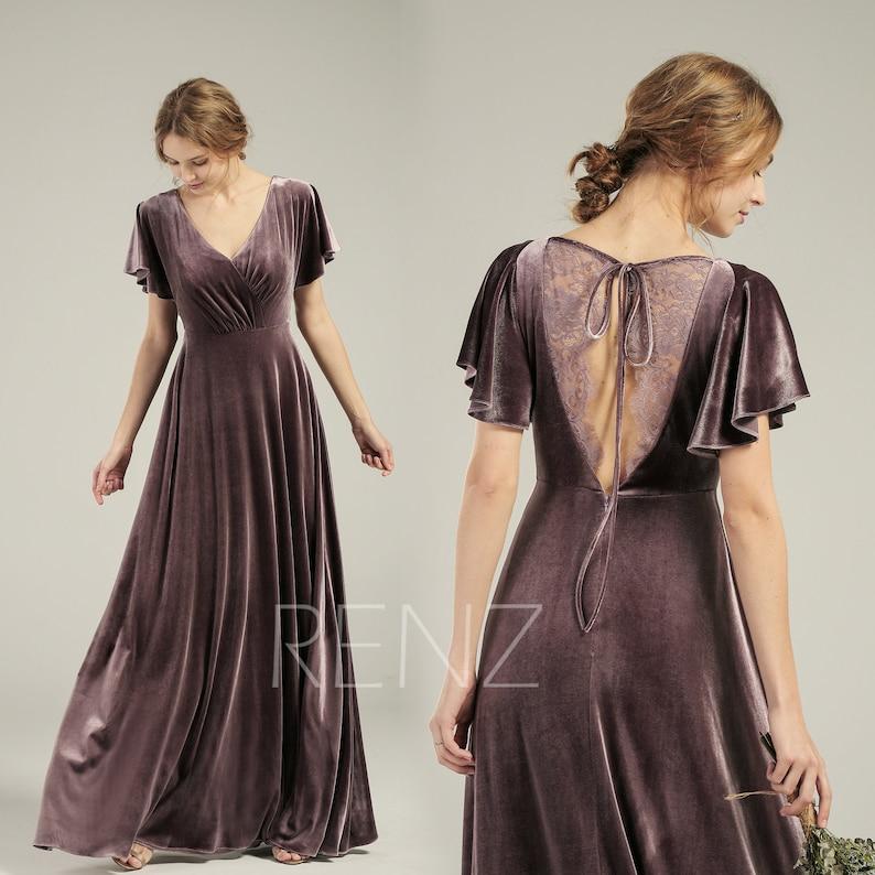 fluwelen jurk
