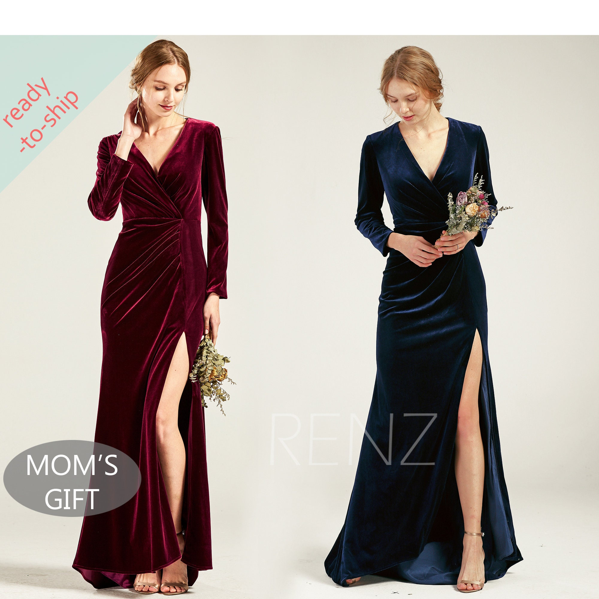 f411fb6ad8d Long Sleeved Navy Bridesmaid Dresses - Gomes Weine AG