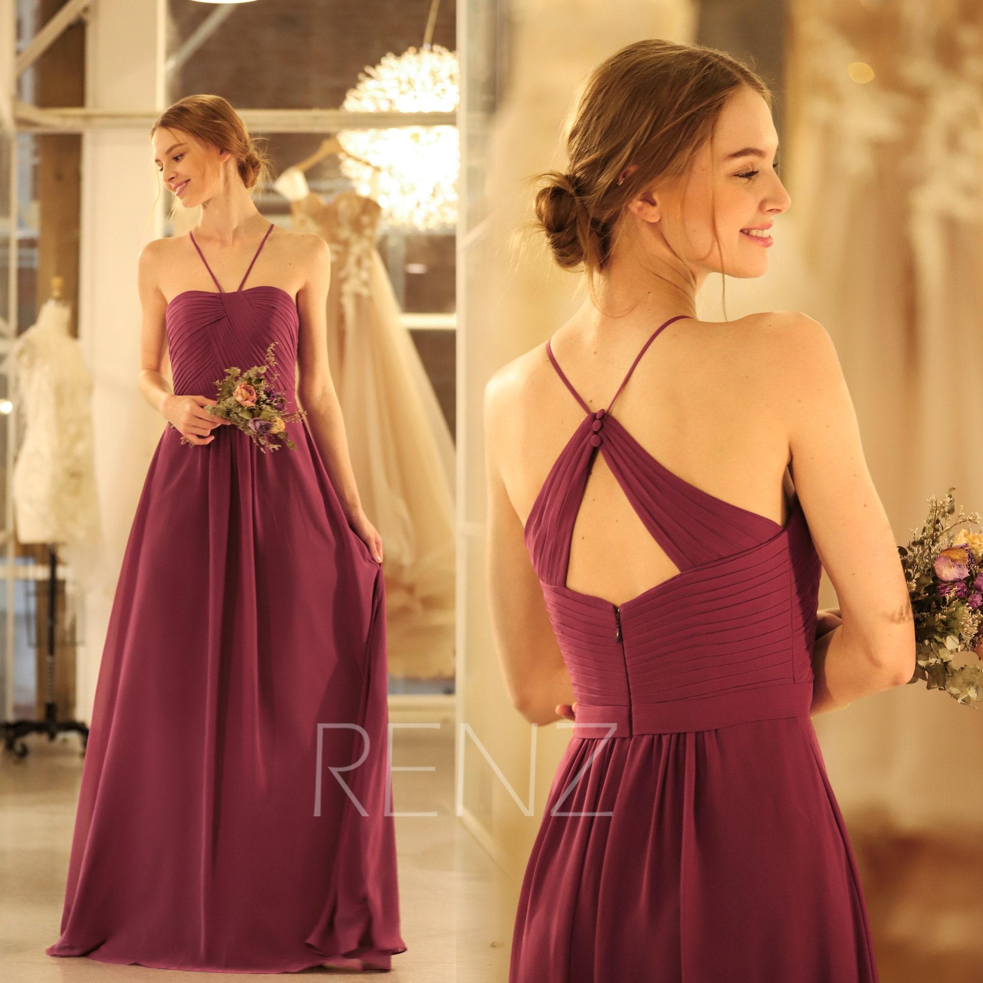 40be64c297e Mauve Bridesmaid Dresses Ebay
