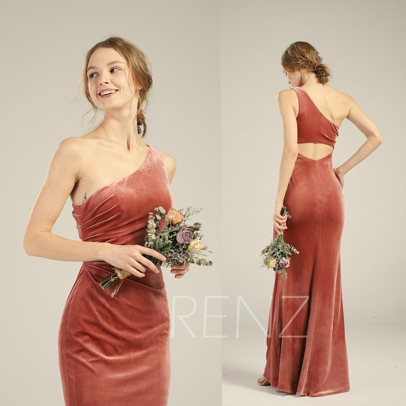 057a22762 Prom Dress Long Velvet Bridesmaid Dress Velvet Dresses for | Etsy