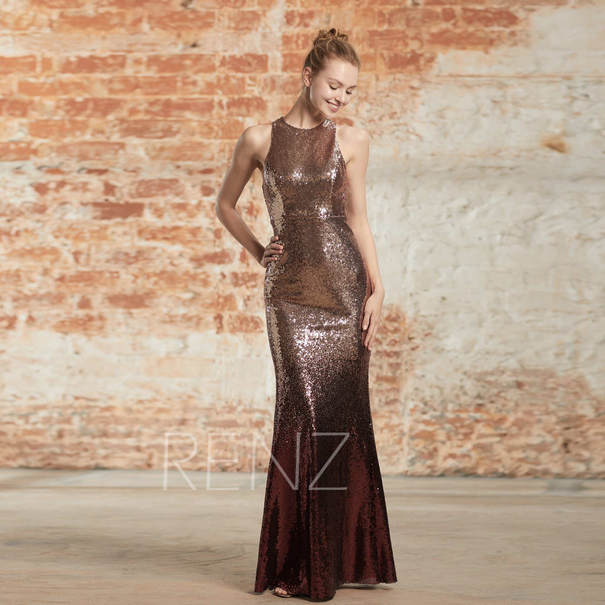 a7f98a46 Rose Gold Sparkly Dress Uk