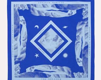 Dreamer Blue Hanky